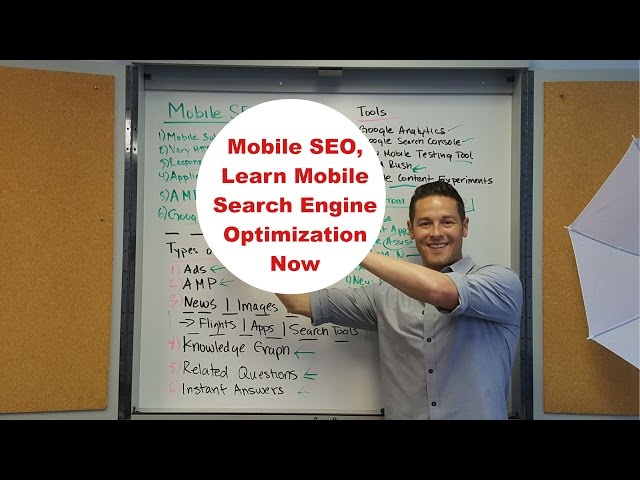 Learn Mobile Search Engine Optimization