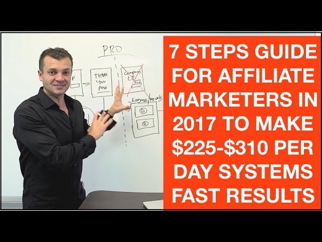 Affiliate Marketing For Beginners 7 Steps