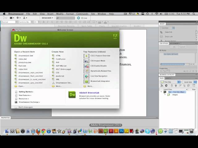 Dreamweaver Tutorial – SEO Chandler