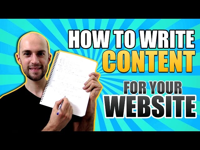 Write Website Content With Good SEO