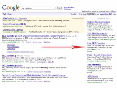 Web SEO PPC Vs Organic Search
