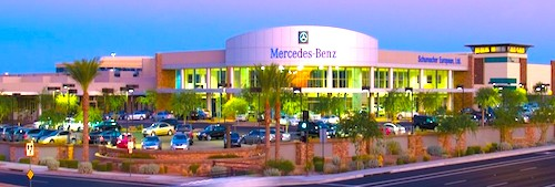 mercedes dealership in phoenix